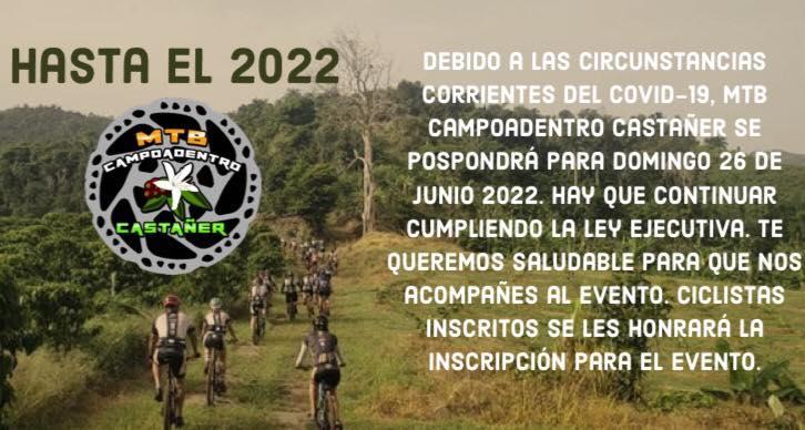 MTB CampoAdentro Castañer Comunicado del Evento 2021